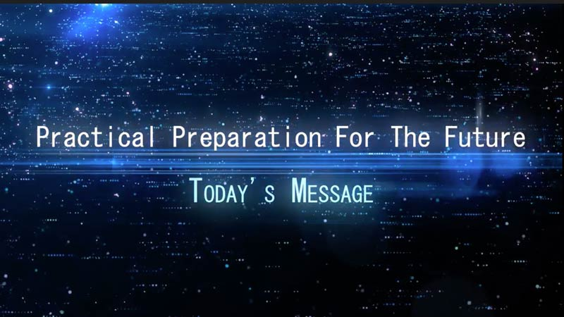 Practical Preparation For The Future