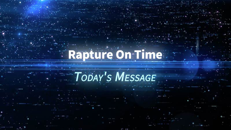 Rapture On Time